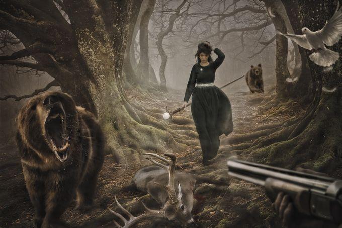 ...guardian  by lukakwiatkowsky - A Fantasy World Photo Contest