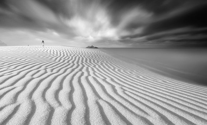 time without time by joecas - A Black And White World Photo Contest