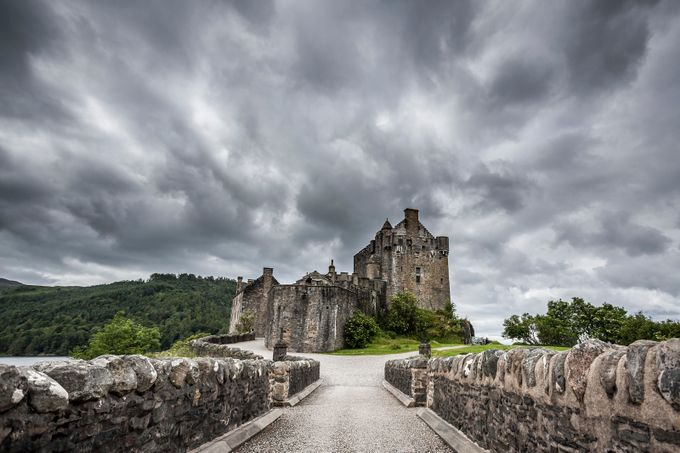 Eilean Donan by A-Kamermans - Enchanted Castles Photo Contest
