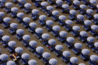 Beach umbrellas I