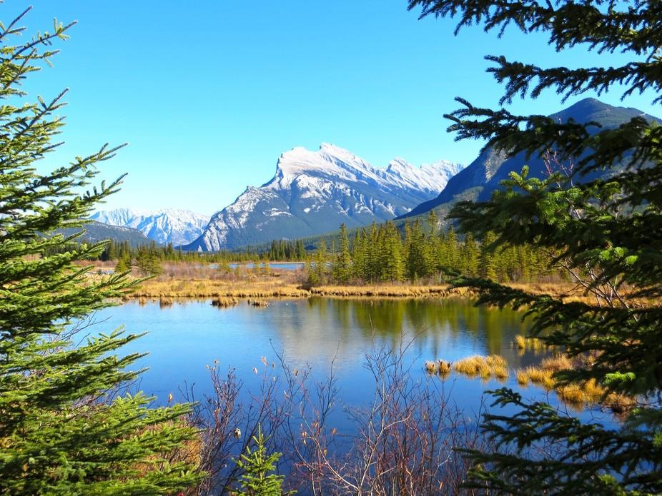 Vermelion Lake, Banff, Canada.