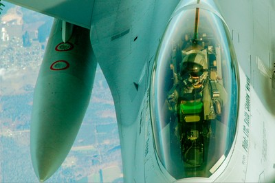 F-16Refueling Exercise