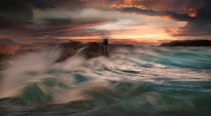 The Storm by WildSeascapes