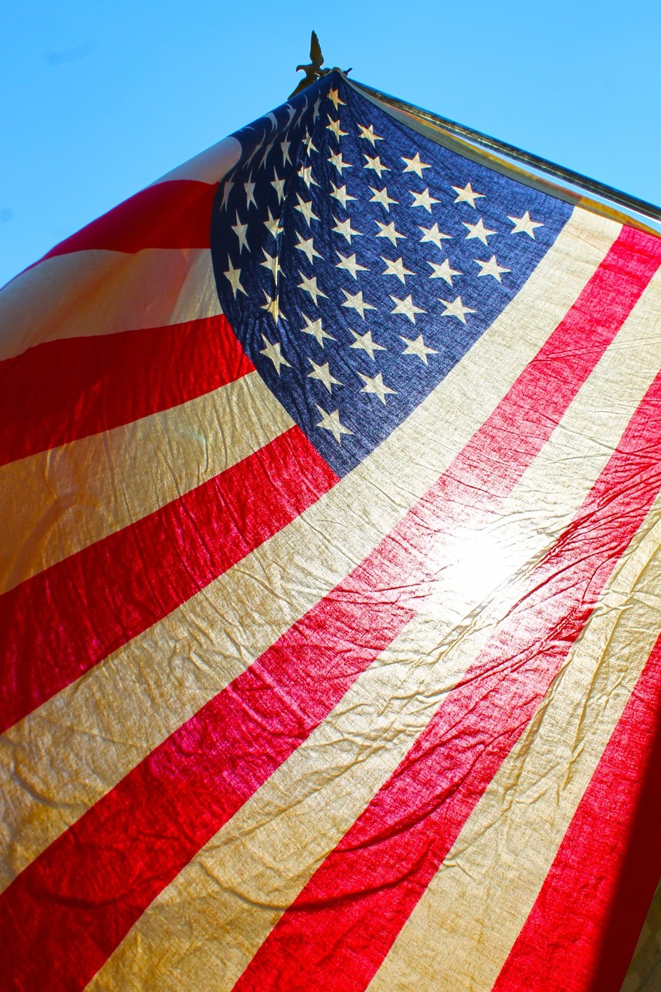 """Land of the free.....because of the brave"" by Rinnie - Flags and Banners Photo Contest"