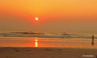 IMG_1914: Sunset reflection