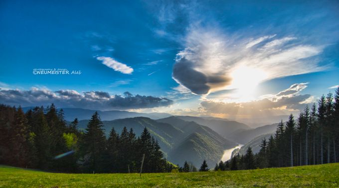 sun explosion by ales_neumeister - Blue Skies Photo Contest
