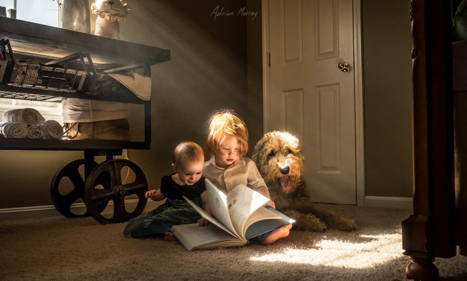 Page Turner by adrianmurray - Kids With Props Photo Contest