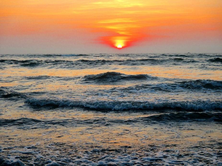 Sunset in Goa India