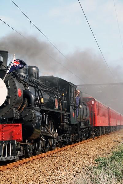 Anzac Day Steam Train from Wellington To Taita