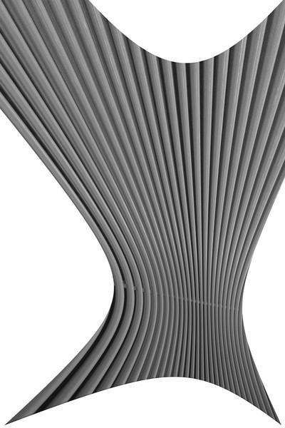 Distorted radiator