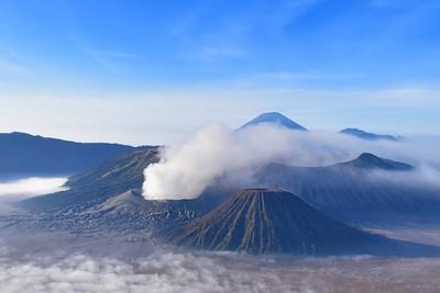 Bromo volcano in Tengger Semeru National Park, East Java, Indonesia