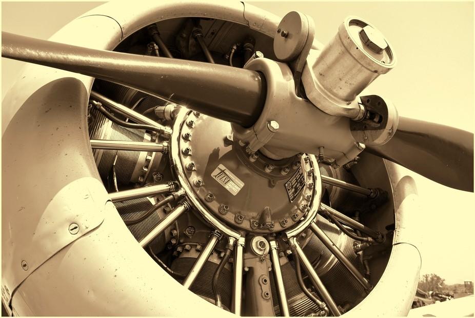 Propeller 3 Sepia