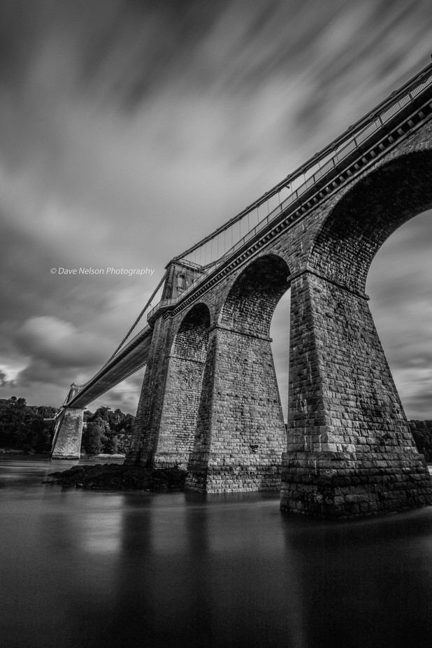 Menai Suspension Bridge by davenelson - Composing with Diagonals Photo Contest