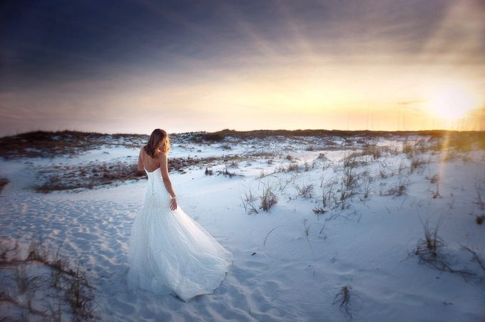 Beach Bride by TerriCoxPhotography - Elegant Moments Photo Contest