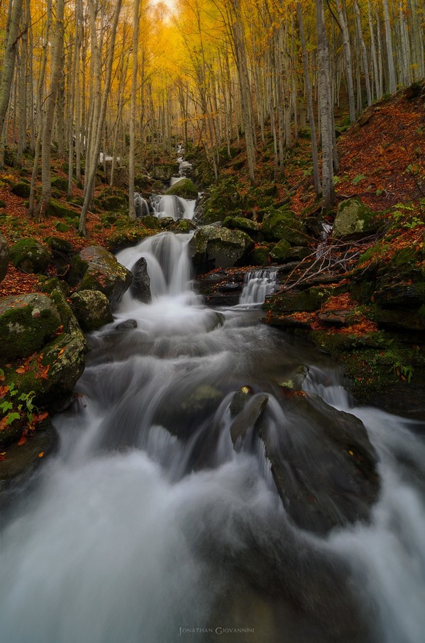 Dardagna's waterfall by jonathangiovannini - Fall 2017 Photo Contest