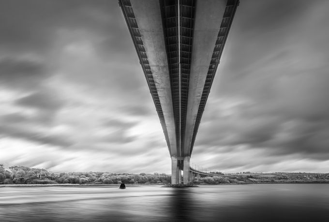 Under the bridge by bernardward - Composition And Leading Lines Photo Contest