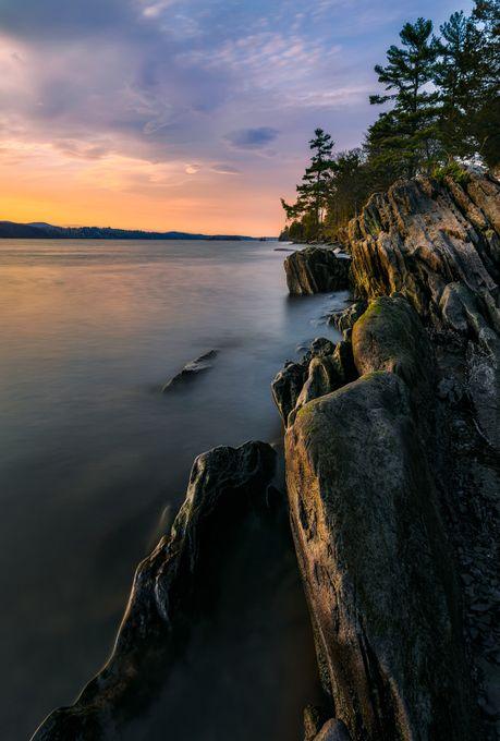 Vanderbilt Shoreline by bpidala - Rule Of Thirds In Nature Photo Contest