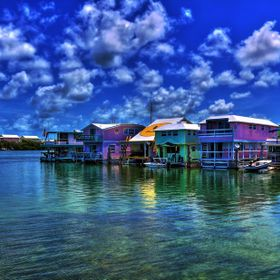 Houseboat row at Garrison Bight Marina Key West, Florida ---  Shot using my Canon t6i mounted with my Canon 17-40mm f/4 L usm lens on a tripod. U...