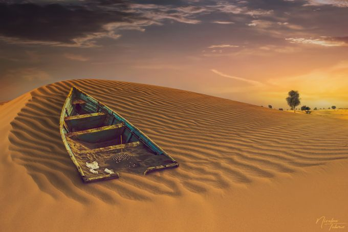 Dune Bashing by nictohme - Layered Compositions Photo Contest