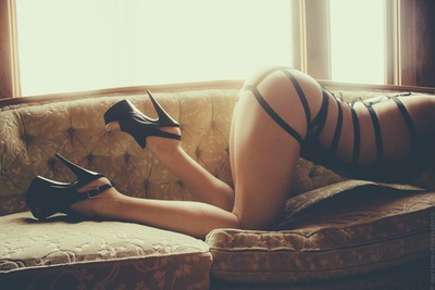 shoes on the couch 2