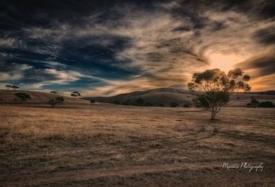 Sunset in Second Valley_2121