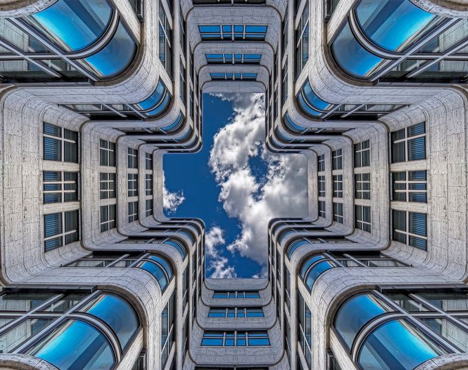 Shell Haus by ewill - A World Of Blue Photo Contest