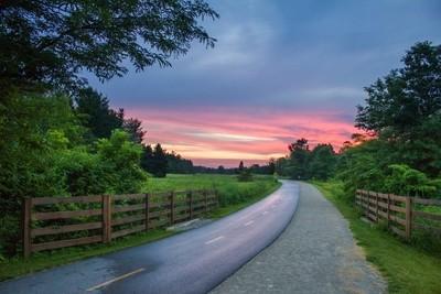 Sunset at Blacklick
