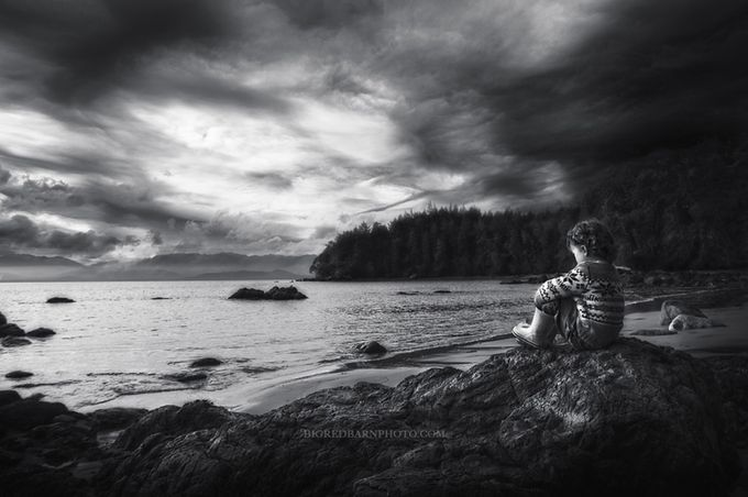 waiting bw by Bigredbarnphoto - Zen Photo Contest