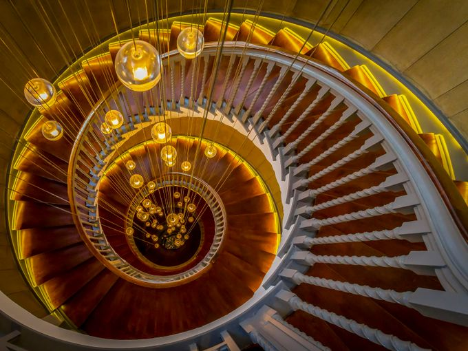 Golden Spiral by karlredshaw - Stairways Photo Contest