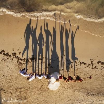 A shadow wedding