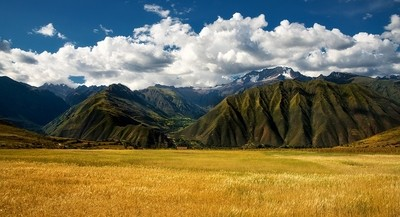 colors of the Andes