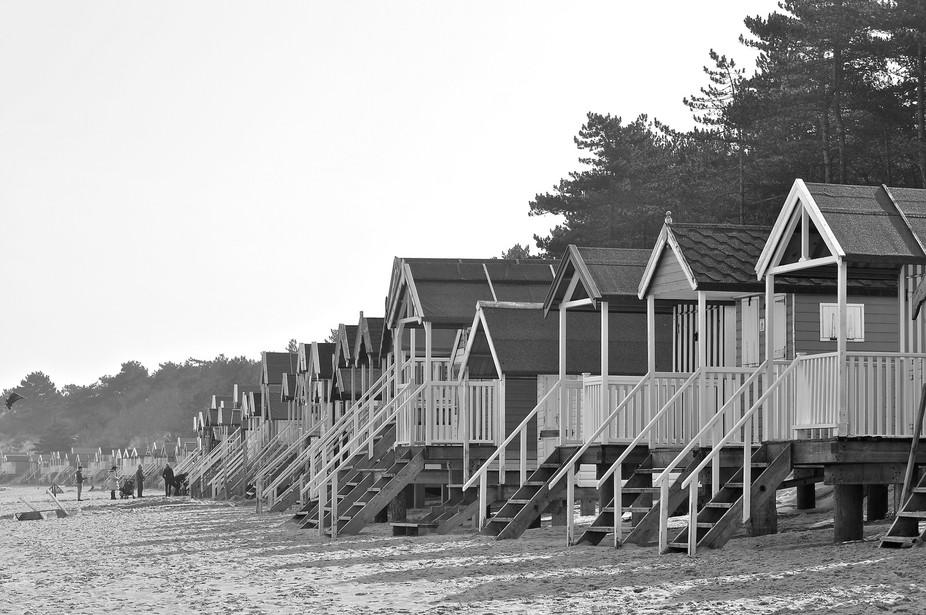 Beach hut city