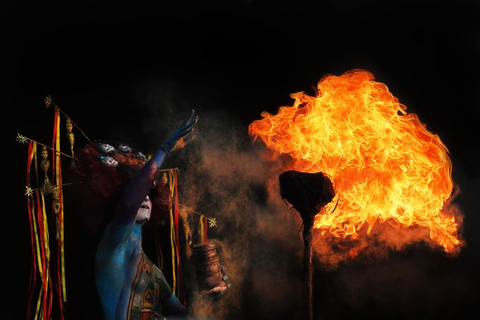 Fiery performance by Prijaznica - Shooting Fire Photo Contest