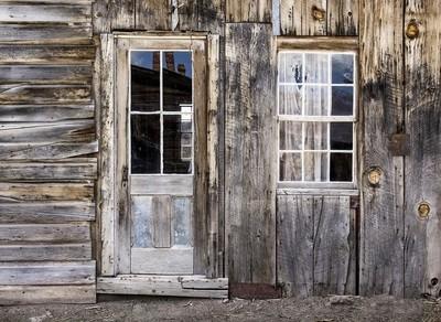 Ghost Town Door and Window