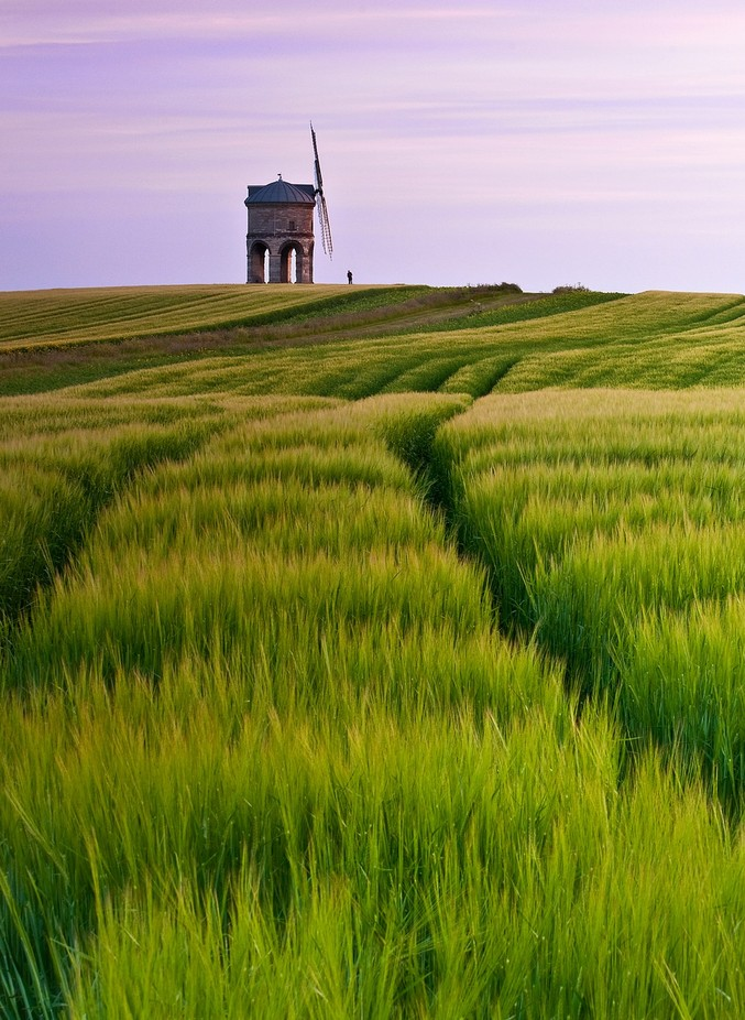 chesterton windmill barley tracks by wolfman57 - Windmills Photo Contest