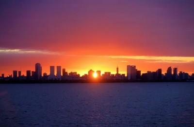 argentinian sunset