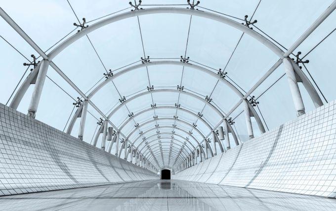 Tubular Portal by ewill - Shooting Tunnels Photo Contest