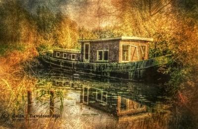 Derelict Houseboat