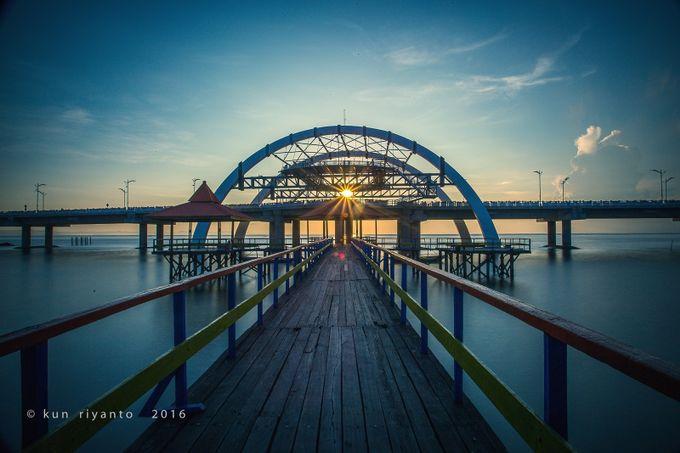 Pier And Bridge by kunriyanto - Boardwalks Photo Contest