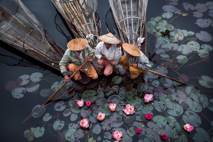 Inle Fishermen by DrewHopper - Your Point Of View Photo Contest