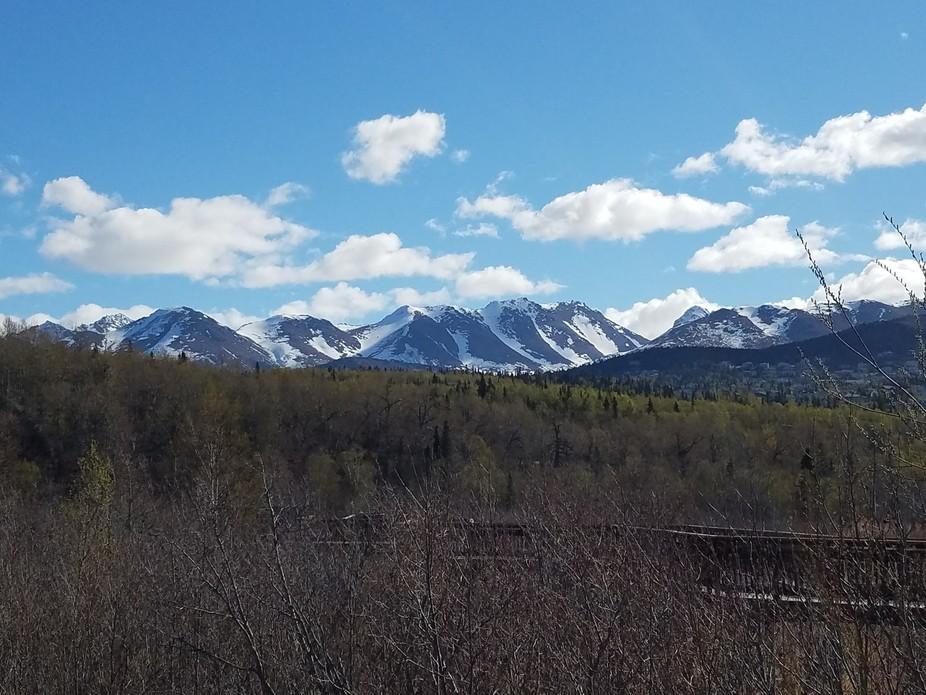 Beautiful view, near Rabbit Creek