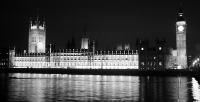 house of commons, night
