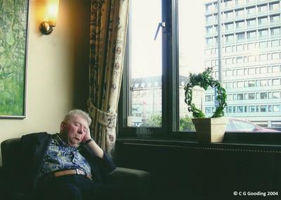 Man Sleeping, Copenhagen