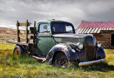 Bodie Ghost Town Truck