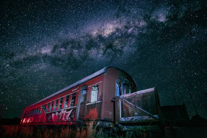 Midnight Express by DrewHopper - Capture The Milky Way Photo Contest
