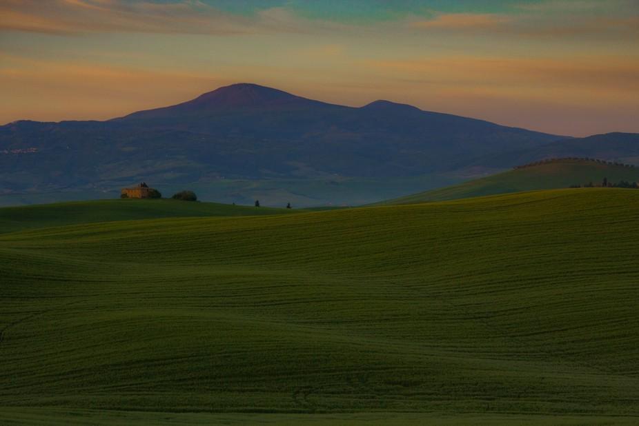 Tuscany at sunrise 2