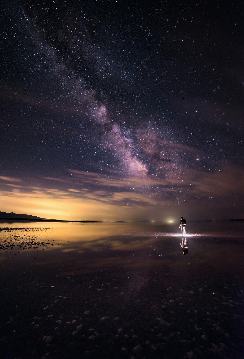 Walking On A Dream by prajitr - Creative Travels Photo Contest