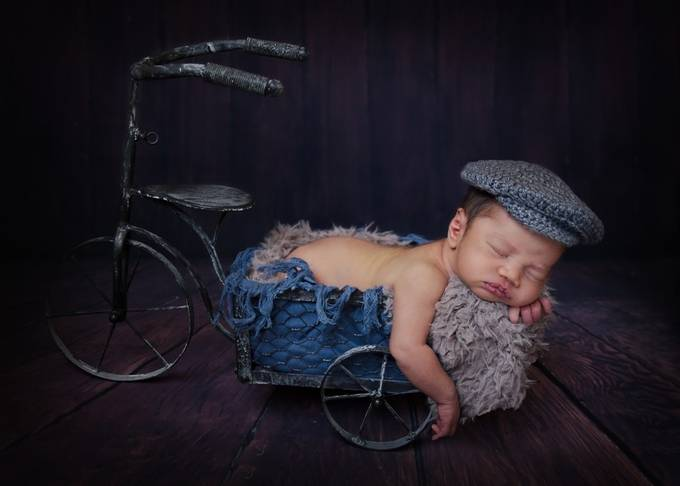 Paper boy by LauraGurneyPhotography - Kids With Props Photo Contest