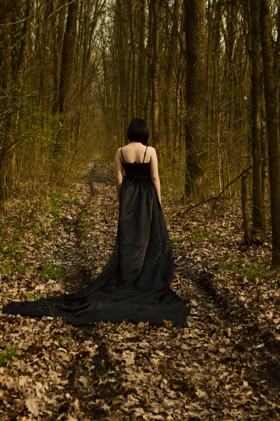 Lady in the wood by AgiForro - Visual Poetry Photo Contest