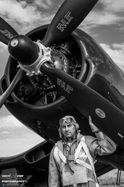 Portrait Of A Fighter Pilot